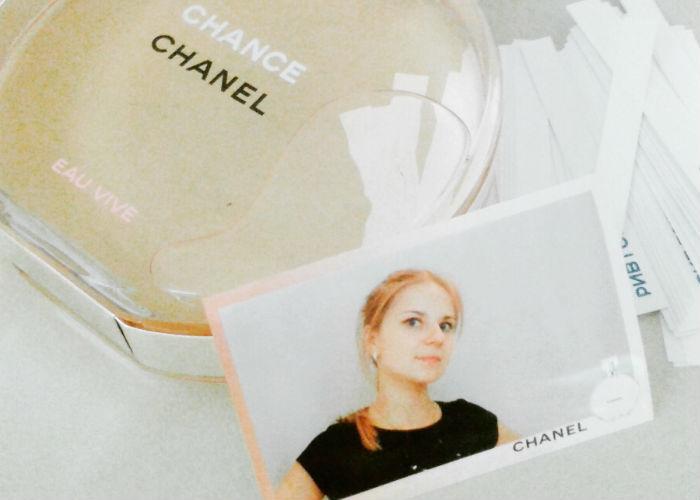 Презентация аромата Chanel Chance